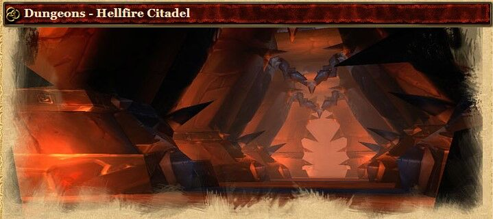 2004 Game Guide's Banner for the Hellfire Citadel Dungeons