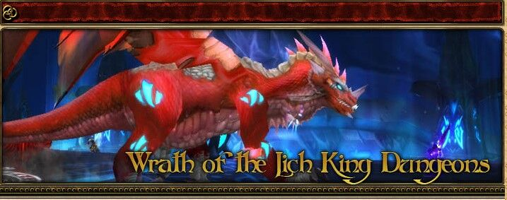 2004 Game Guide's Banner for the Wrath of the Lich King Dungeons
