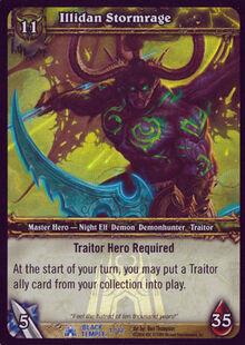 Illidan Stormrage (Black Temple Treasure) TCG Card.jpg