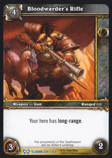 Bloodwarder's Rifle TCG Card.jpg