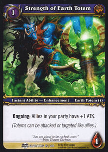 Strength of Earth Totem TCG Card.jpg