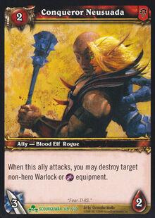 Conqueror Neusuada TCG Card.jpg