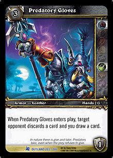 Predatory Gloves TCG Card.jpg