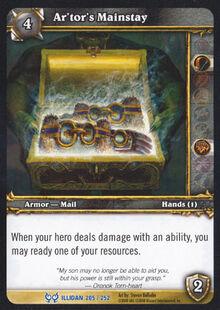 Ar'tor's Mainstay TCG Card.jpg