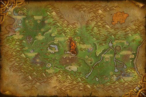 Ashenvale map
