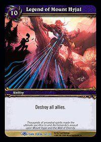 Legend of Mount Hyjal TCG Card.JPG