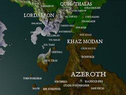 Warcraft2Console PlayStation Azeroth map.jpg