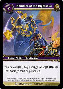 Hammer of the Righteous TCG Card.jpg