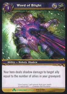 Word of Blight TCG Card.jpg