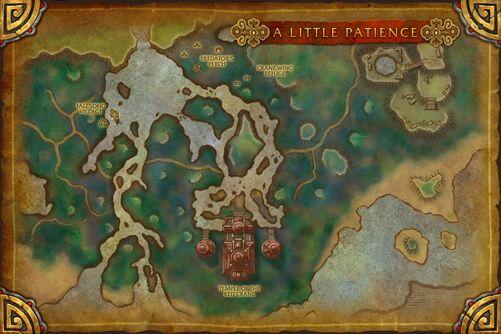 A Little Patience map