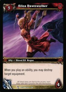 Silea Dawnwalker TCG Card.jpg