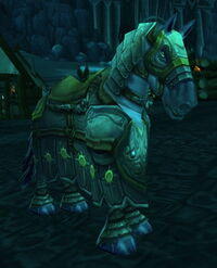 Image of Stabled Campaign Warhorse