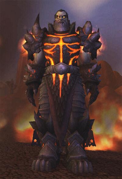 gold human form deathwing dragon