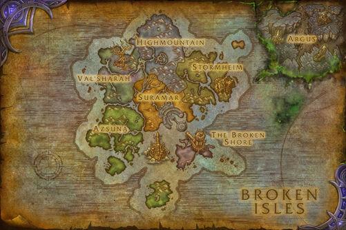 Broken Isles map