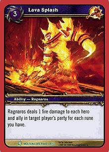 Lava Splash TCG card.jpg