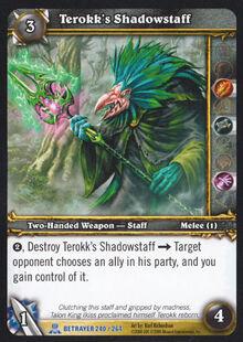 Terokk's Shadowstaff TCG Card.jpg