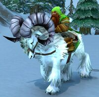 Image of Mounted Ironforge Mountaineer