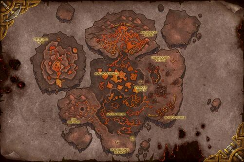 Molten Front map