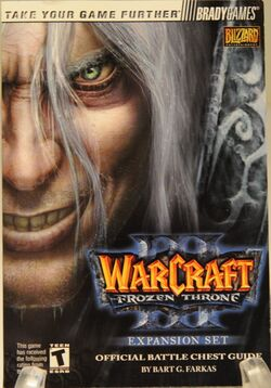 Warcraft III The Frozen Throne Official BC Guide.jpg