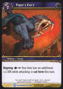Tiger's Fury TCG Card.jpg