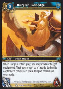 Durgrin Ironedge TCG Card.jpg