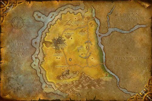 Westfall map