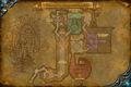 Map of Drak'Tharon Keep - First level