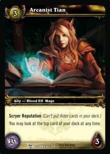 Arcanist Tian TCG Card.jpg