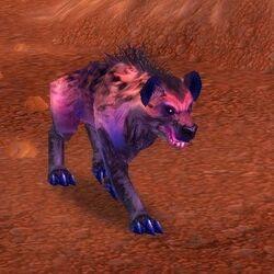 Pesterhide Hyena