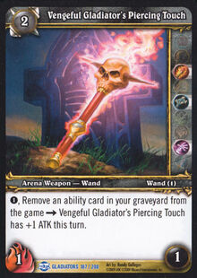 Vengeful Gladiator's Piercing Touch TCG Card.jpg