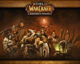 Warlords of Draenor Draenor loading screen.jpg