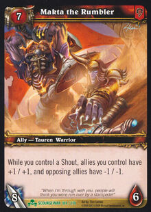 Makta the Rumbler TCG Card.jpg