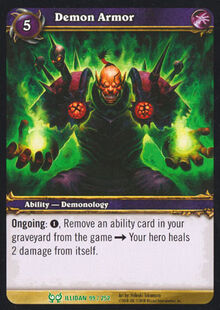 Demon Armor TCG Card.jpg