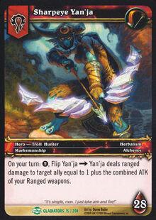 Sharpeye Yan'ja TCG Card.jpg
