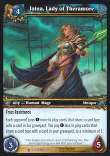 Jaina, Lady of Theramore TCG Card.jpg