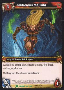 Malicious Mallina TCG Card.jpg