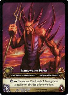 Flamewaker Priest TCG card.jpg
