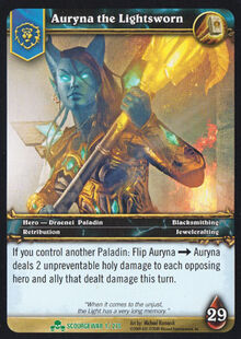 Auryna the Lightsworn TCG Card.jpg