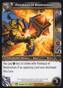Firemaul of Destruction TCG Card.jpg
