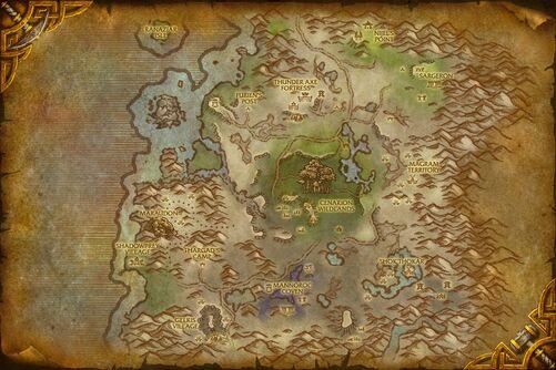 Desolace map