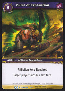 Curse of Exhaustion TCG Card.jpg