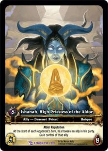 Ishanah High Priestess of the Aldor TCG extCard.jpg