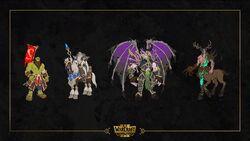 Warcraft III Reforged - BM AM DL KotG panel concept art.jpg