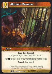 Akama's Promise TCG Card.jpg
