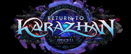 Return to Karazhan logo