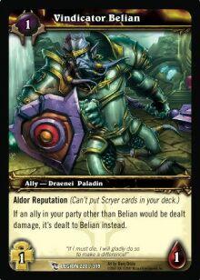 Vindicator Belian TCG Card.jpg