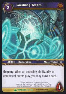 Gushing Totem TCG Card.jpg