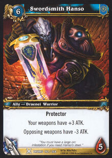 Swordsmith Hanso TCG Card.jpg