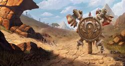 Warcraft III Reforged - Loading Screen Barrens Horde.jpg