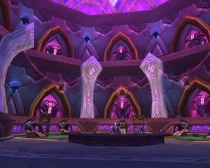 The Caregiver Center in the Exodar
